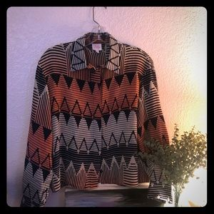 Parker Tribal Print shirt